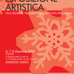 Locandina Esposizione 6-7-8 Dicembre 2008