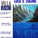 RESARTE Locandina VILLARUSCONI concorso 2012
