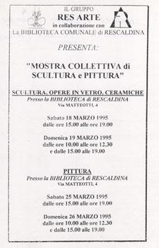 resarte_1995_Locandina_marzo_1995_1