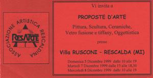 resarte_1999_Invito_esp_5_8_dic_1999_1